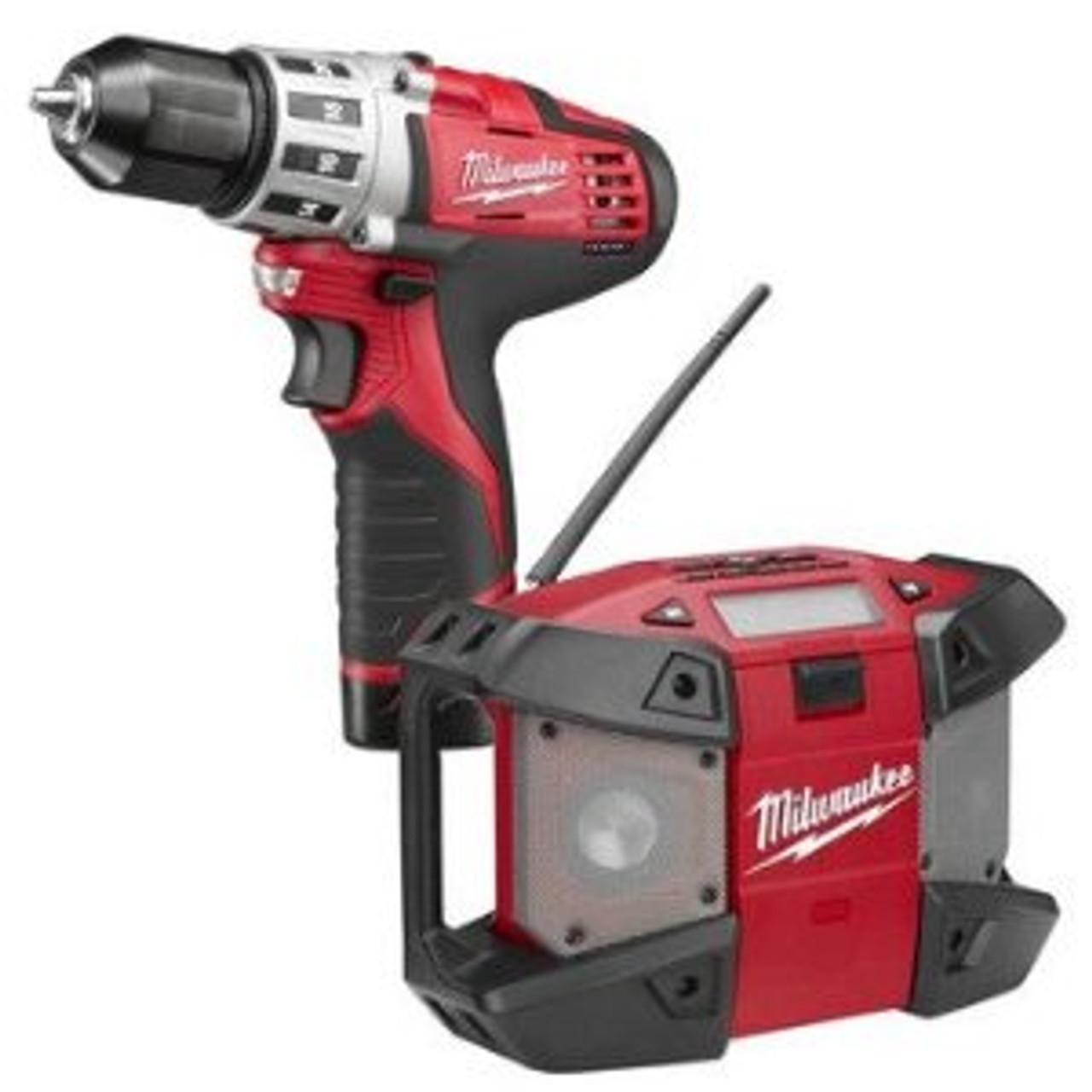 "Milwaukee M12 Cordless 3/8"" Drill Driver Kit 2410-22P"