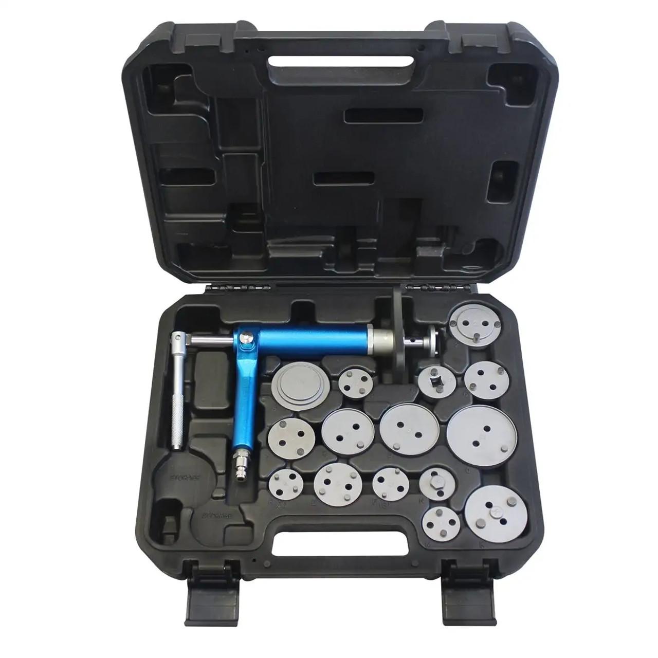 Pneumatic brake caliper tool kit 100-43050