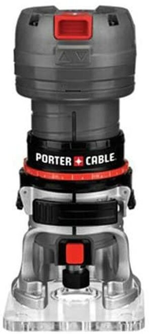 PORTER-CABLE 4.5-Amp Single Speed 1/4-Inch Laminate Trimmer, Router