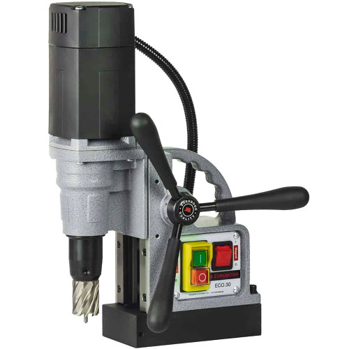 """Euroboor ECO.30 Magnetic Base drill Ø 7/16"""" - 1 3/16"""" / 18.7 lbs"""