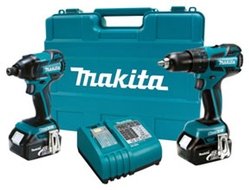 18V LXT Lithium-Ion Brushless Cordless 2-piece Combination Kit MKT-LXT239