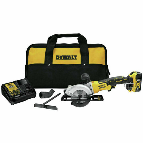 20V MAX Circular Saw, 4-1/2-Inch Kit with Battery and charger