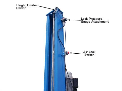 Atlas® 414A 14,000 Lbs. Commercial Grade 4 Post Alignment Lift