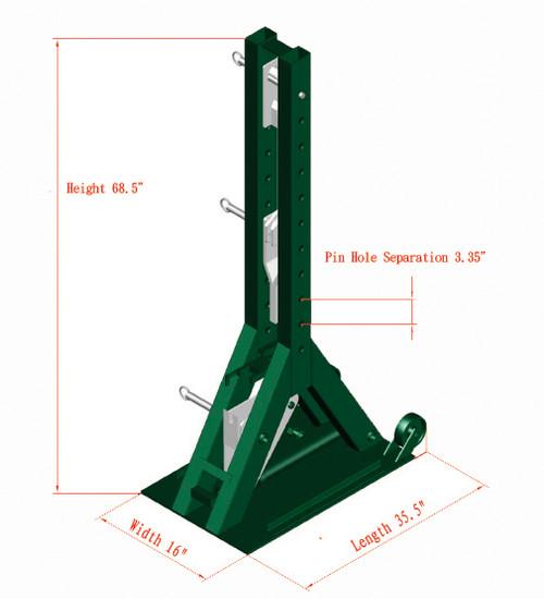 Model 892 Dimensions