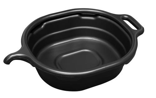 17972 4.5 GALLON OVAL DRAIN PAN, BLACK