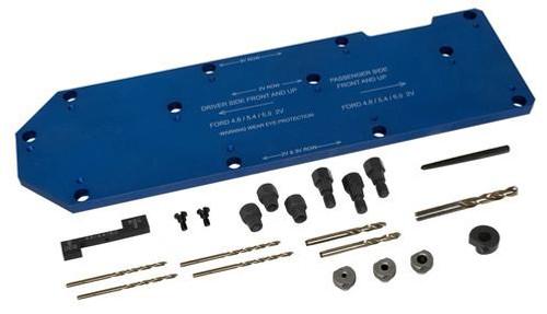71600 MANIFOLD DRILL TEMPLATE FOR FORD 4.6L, 5.4L & 6.8L
