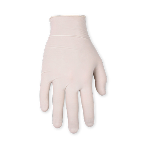 Latex Disposable Gloves, Medium, Pre-Powdered, 100 pk