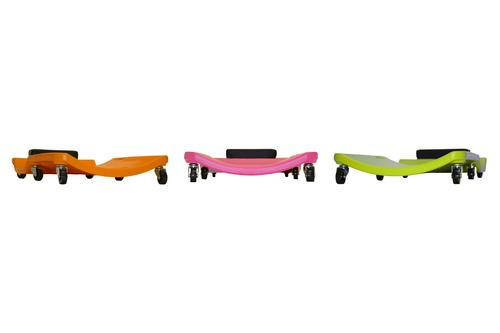 93202 LOW PROFILE PLASTIC CREEPER (ORANGE)