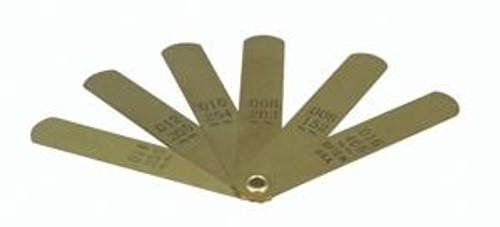 68200 - OBSOLETE AT FACTORY BRASS FEELER GAUGE