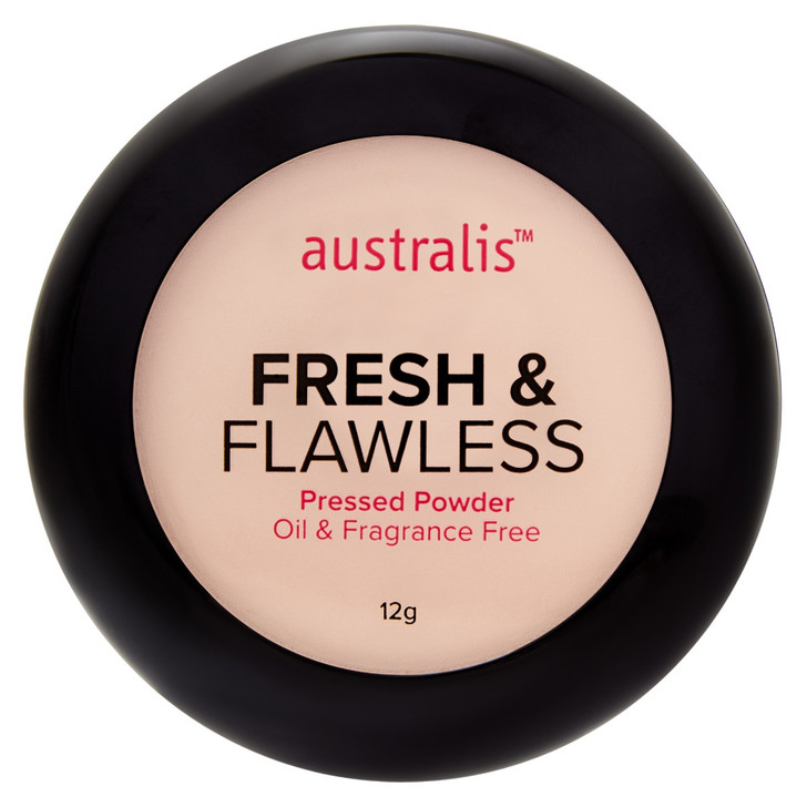 Fresh & Flawless Pressed Powder - Deep Natural
