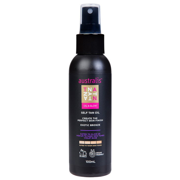 Oil And Glow Self Tan Oil Violet Base