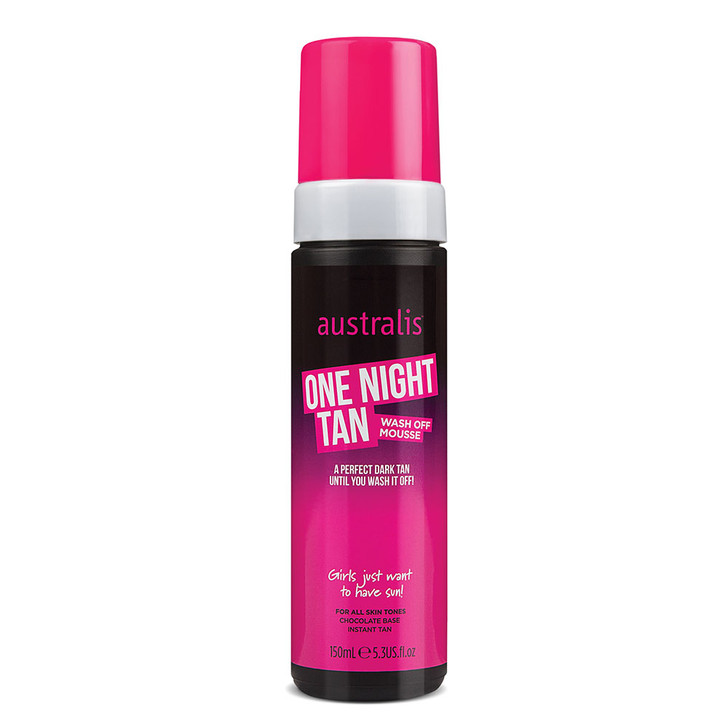 One Night Tan Wash Off Chocolate Mousse