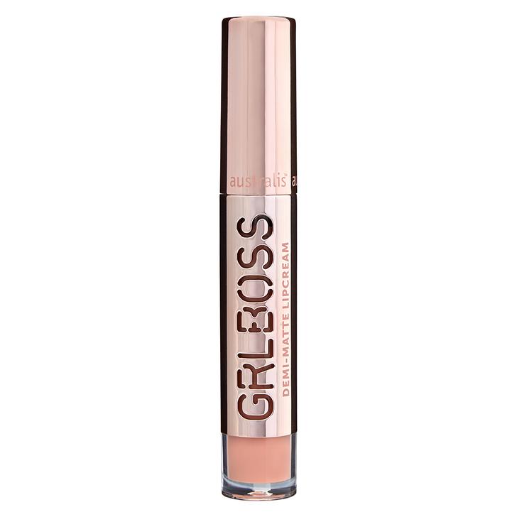 GRLBOSS Demi Matte Lip Cream - Achieve