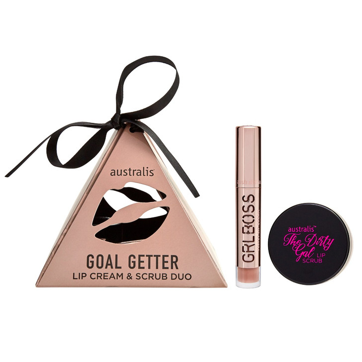 Goal Getter Lip Cream & Scrub Duo