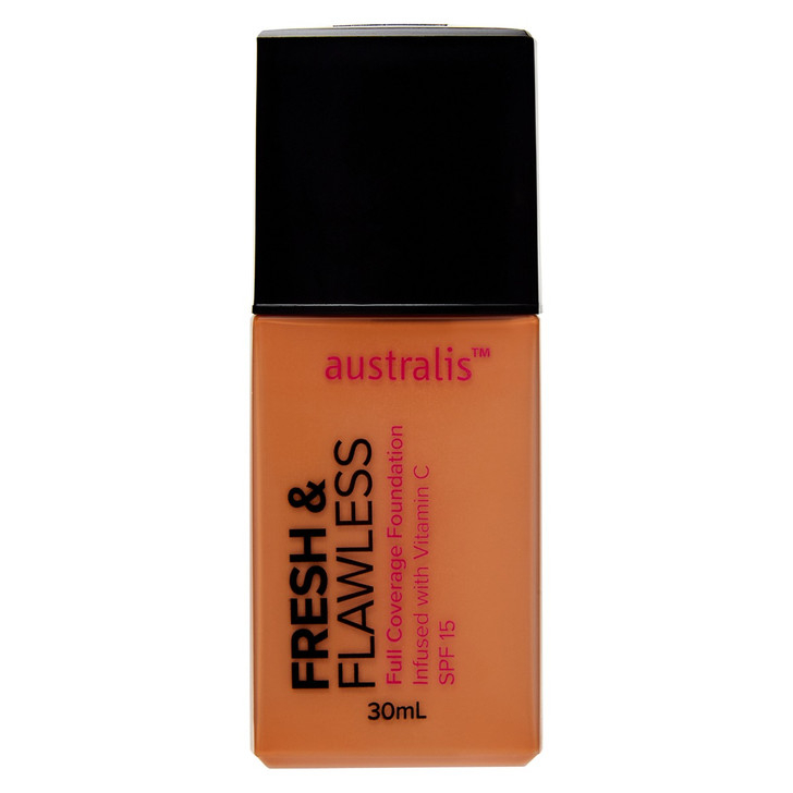 Fresh & Flawless Full Coverage Foundation - Golden Tan