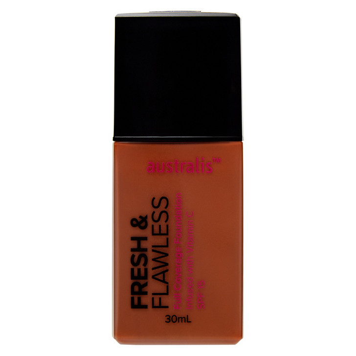 Fresh & Flawless Full Coverage Foundation - Brown Spice