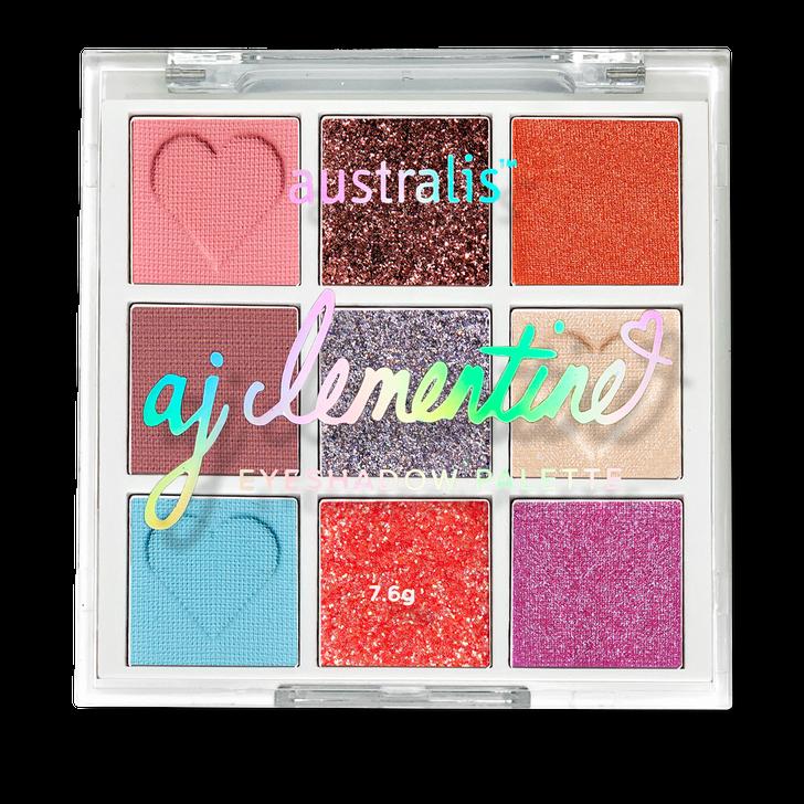 AJ Clementine Eyeshadow Palette