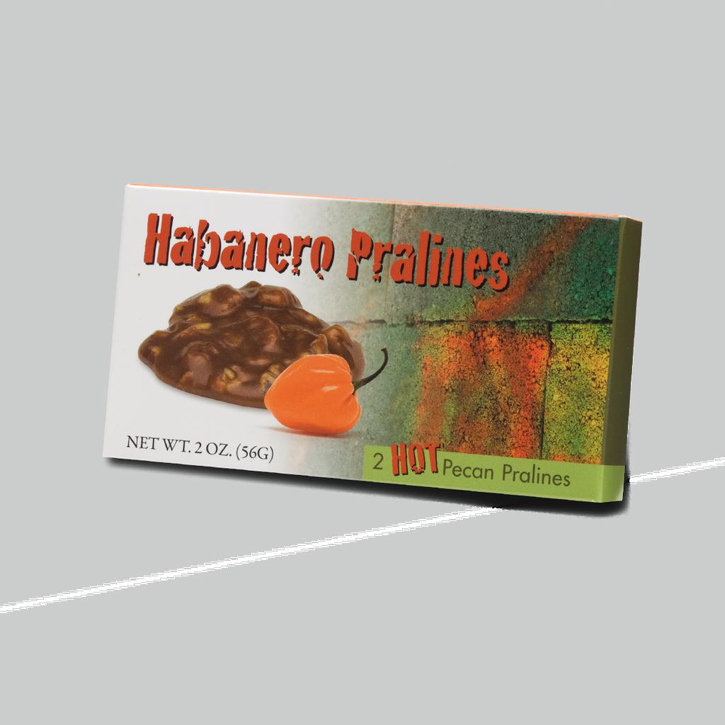 2 Piece Habanero Pralines, 6 Pack