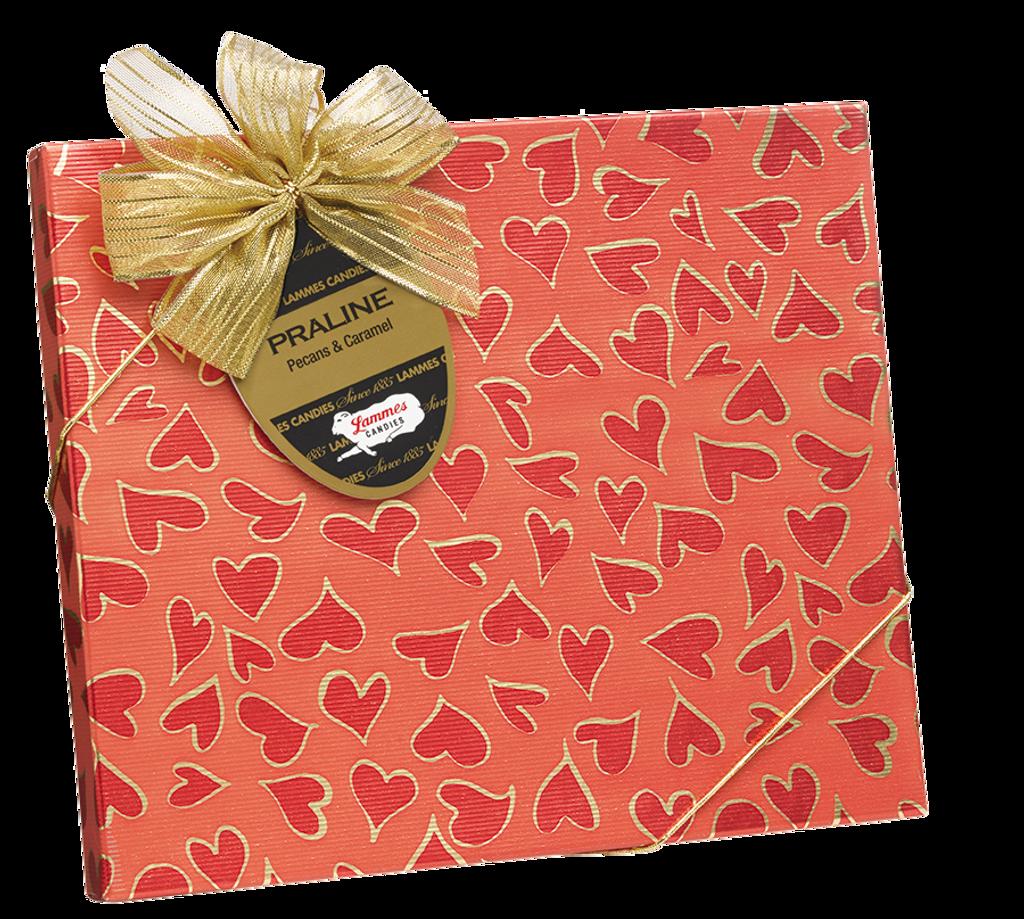 Pralines Sweetheart Box, 9 Piece