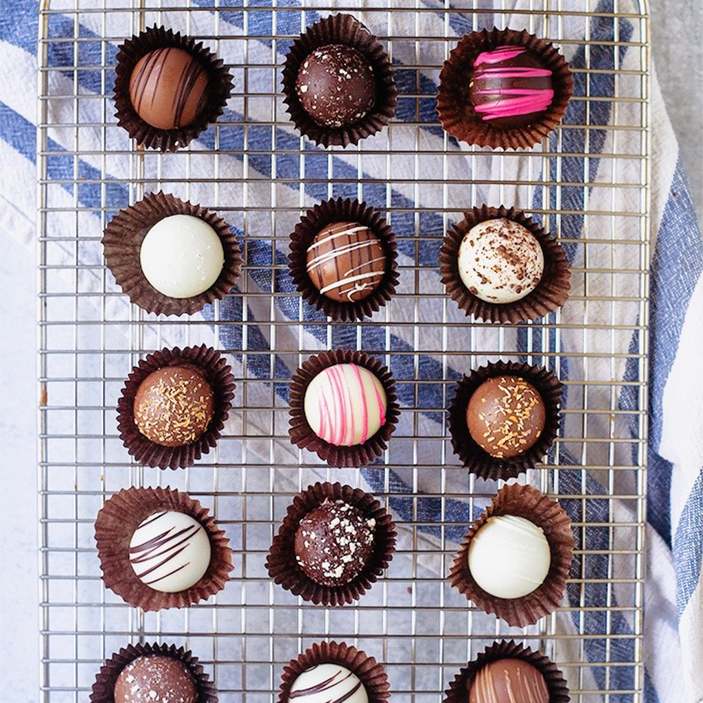 Chocolate Truffles, 18 Piece