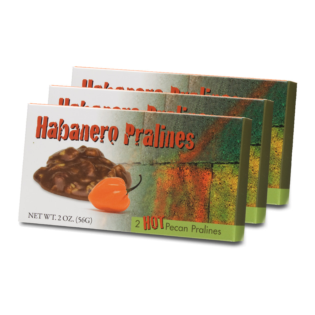 2 Piece Habanero Pralines - Case of 48