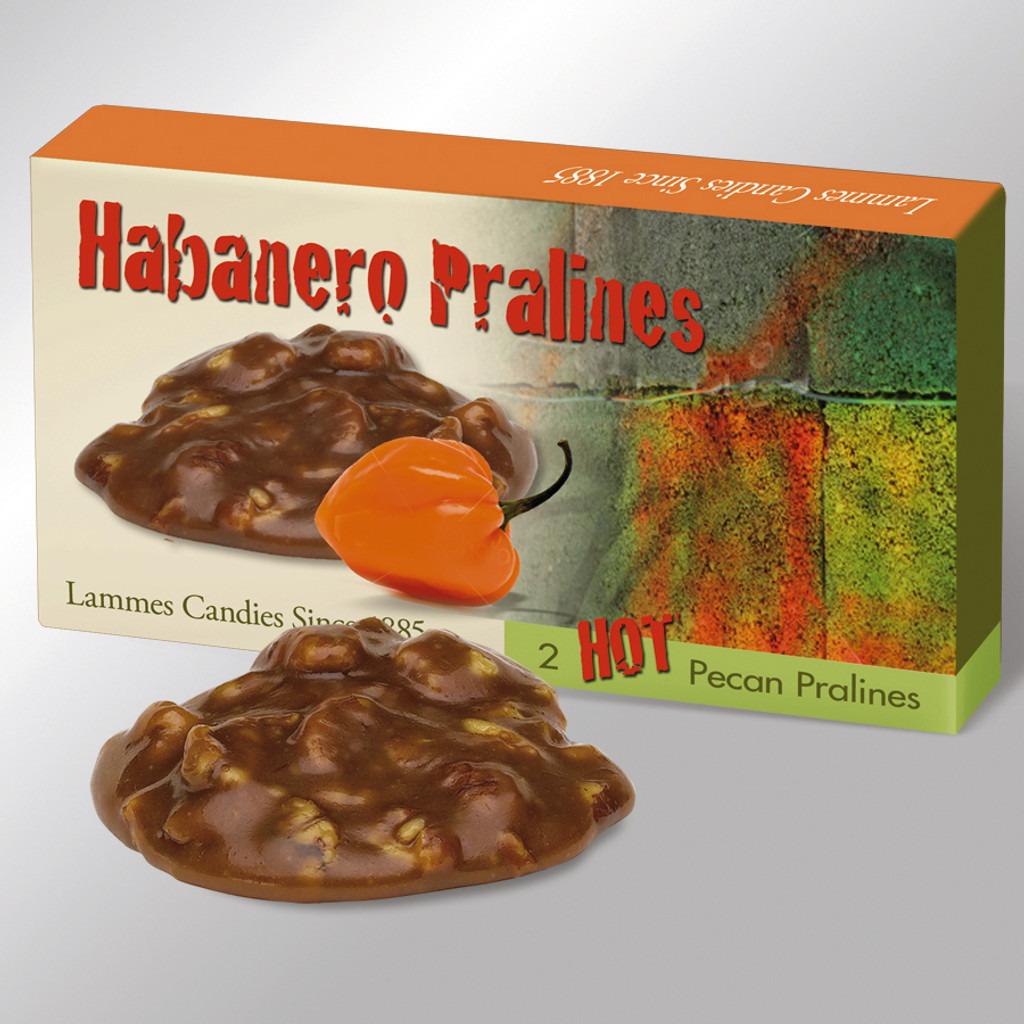 2 Piece Habanero Pralines - Case of 48