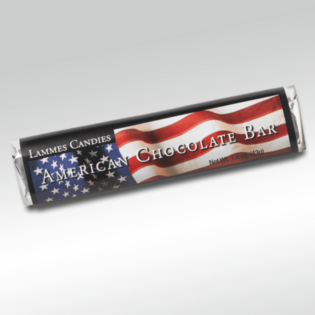 American Flag Chocolate Bars