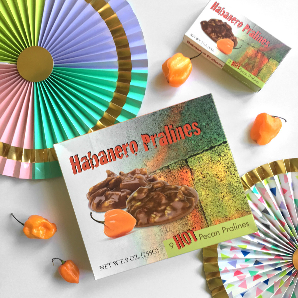 9 Piece Habanero Pralines - Case of 12