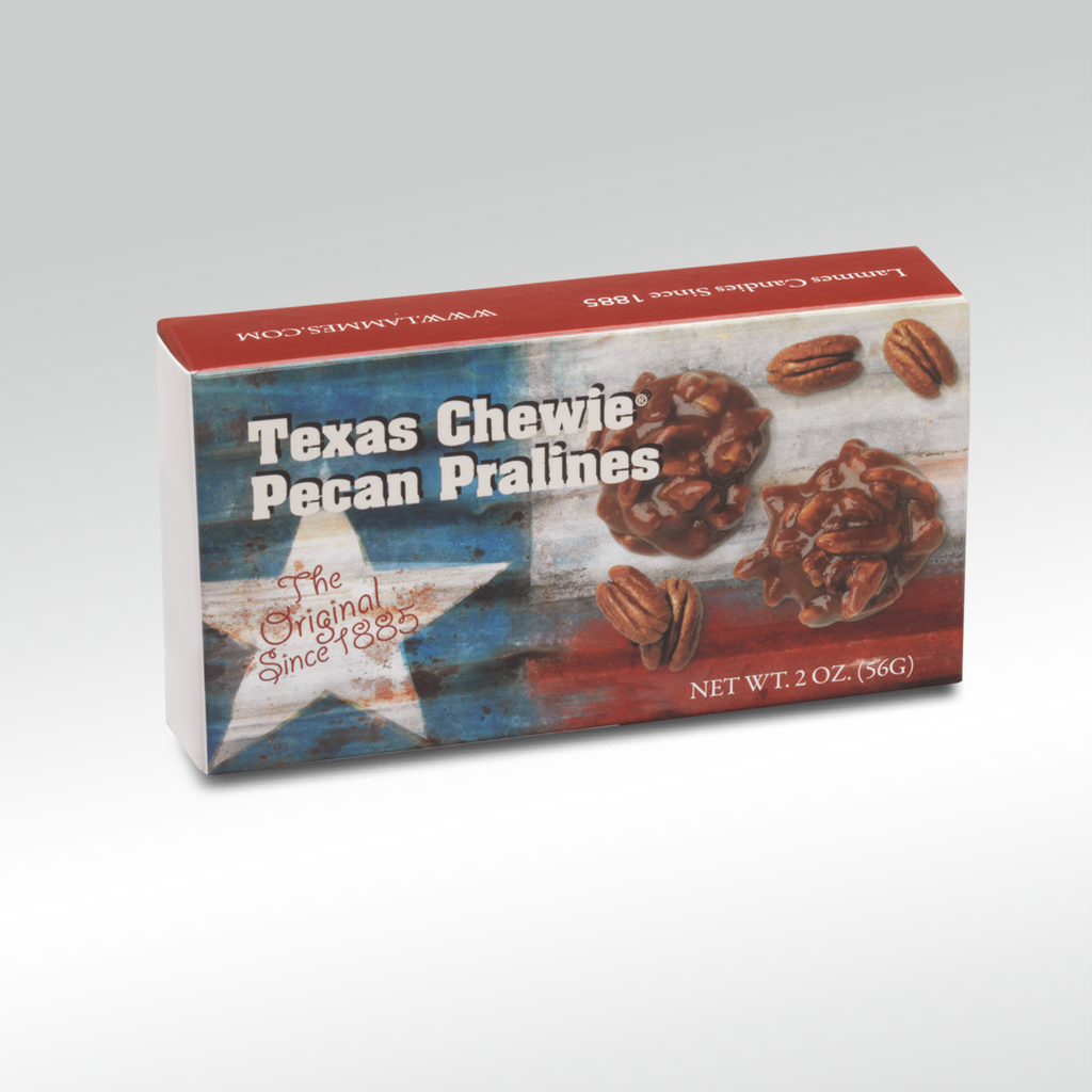 2 Piece Texas Flag Praline Box