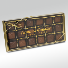 Chocolate Caramels, 18 Piece