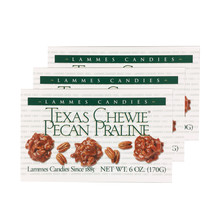 6 oz. Texas Chewie Pecan Pralines - Case of 24