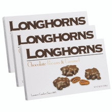 12 oz. Milk Chocolate Longhorns - Case of 12