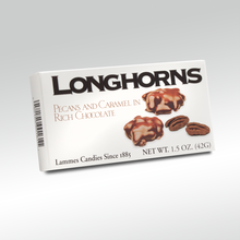 2 Piece Milk Chocolate Longhorns