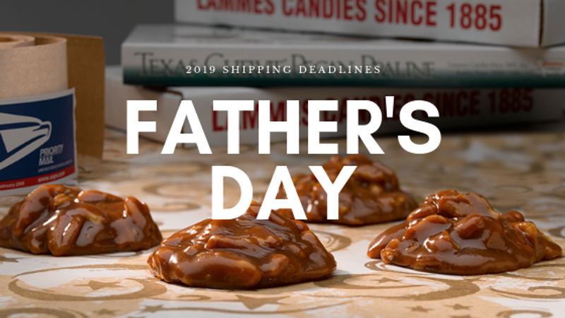 Father's Day 2019 Shipping Deadlines