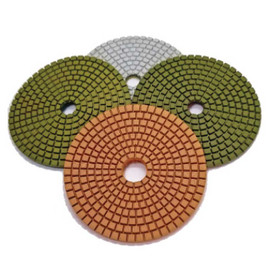Stadea 4 Step Series Ultra G Wet Polishing Pads for Granite Polishing