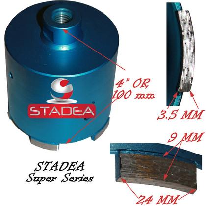 4 inch concrete masonry diamond hole saw core drill bits coring bits by Stadea