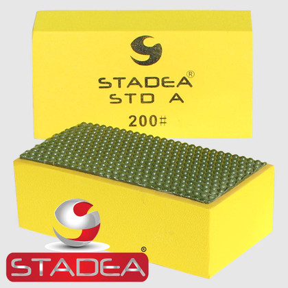 Stadea Diamond Hand Polishing Pads For Stone Hand Polishing Granite Concrete Marble Glass, Grit 200