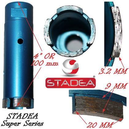 """STADEA diamond hole saw core diamond drill bit for concrete masonry granite stone coring drilling - 42 mm or 1 5/8"""""""