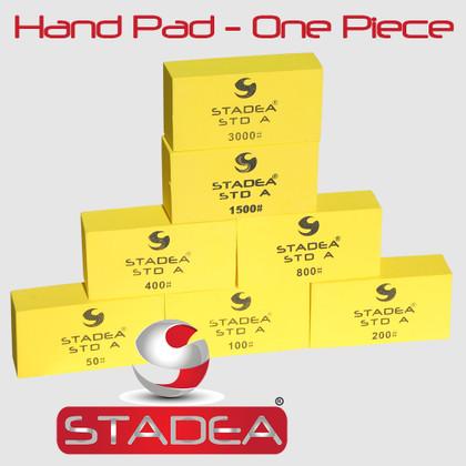 STADEA Diamond Hand Polishing Pad for Granite Marble Concrete Stone Travertine polishing - Any Grit