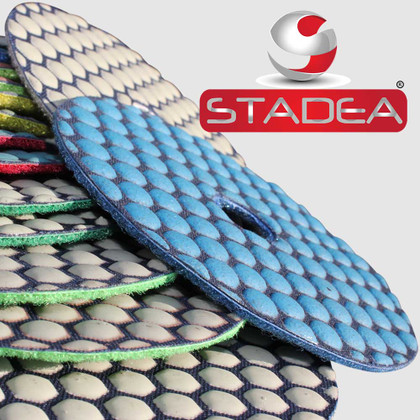 Granite Diamond Polishing Pads Disc Dry 4 Inch 1 Pc  by Stadea (Series Ultra C)