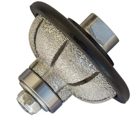"Stadea Diamond Profile Wheel Cove Granite Quartz Stone Marble Countertop Edge Profiles Shaping - For Hand Grinder Wet Polisher - Sizes 3/4"", 1"", 1 1/4"", 1 1/2"" - Arbor 5/8"" 11, 1 Piece"