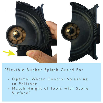 Stadea SWP101K Stone Wet Polisher Accessories - Splash Guard - Carbon Brushes - Water Control Line - Water Quick Connect