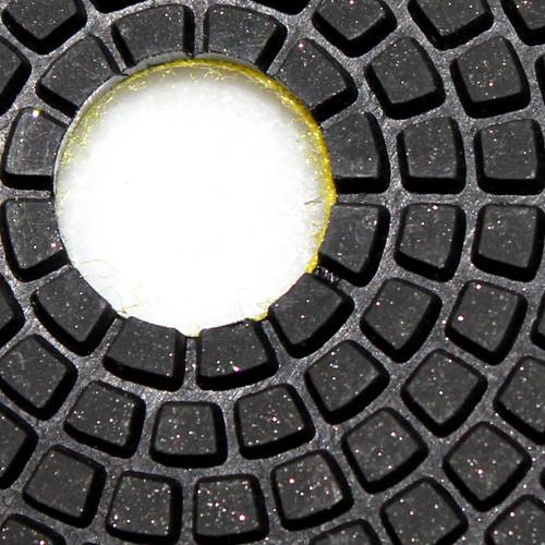 5 Inch Premium DRY Polishing Pad 12 Pieces Granite Concrete Marble Stone Onxy