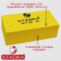Stadea Diamond Hand Polishing Pads For Glass Stone Concrete Granite Marble Hand Polishing, Grit 150