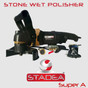 wet stone polisher