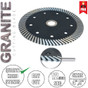 Stadea Dry Diamond Saw Blade Circular For Granite Quartz Hard Stone Cutting