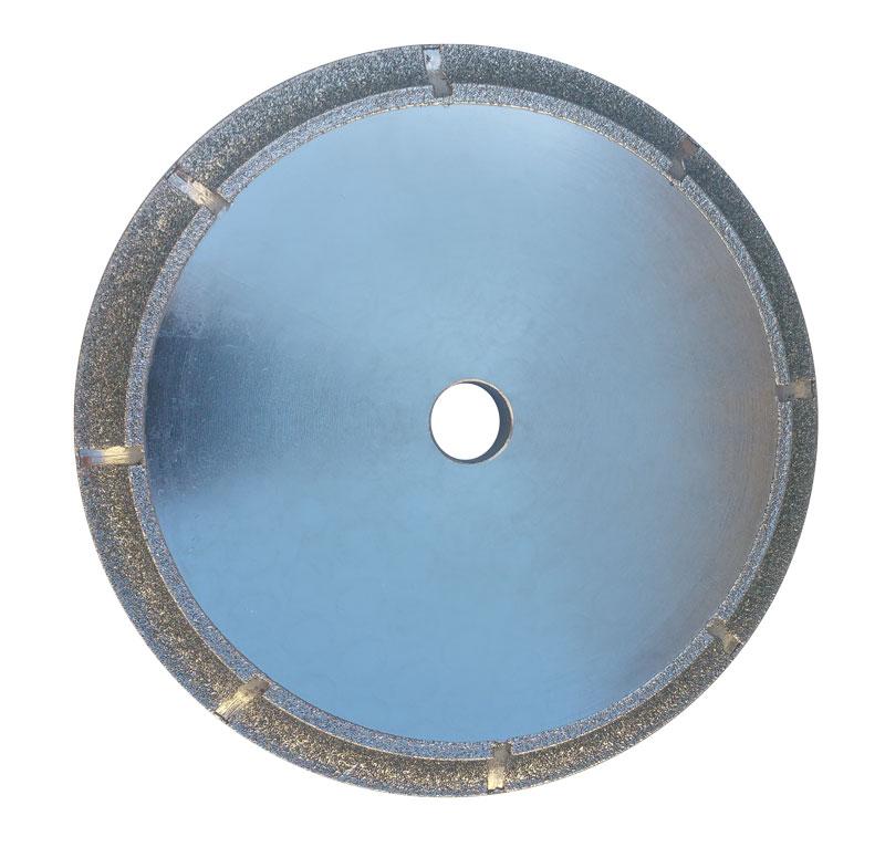 "3//8/"" Demi Bullnose diamond Router Bit 12 Dry Polishing Pad ceramic marble blade"