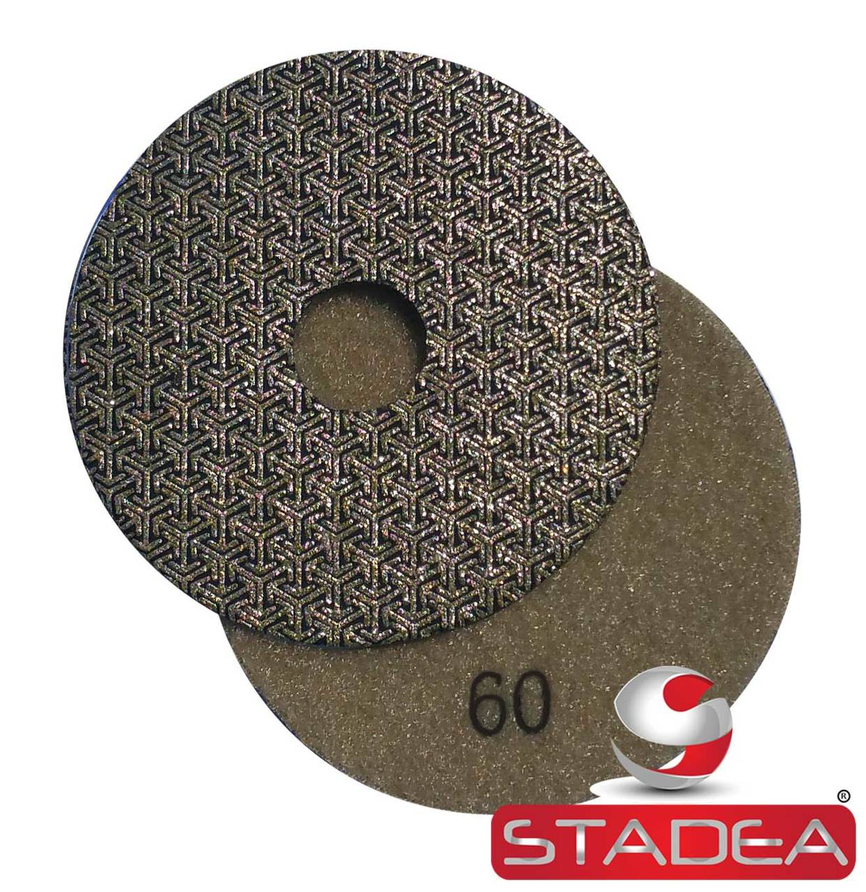 Diamond Polishing Pads 4 inch WetDry Granite Concrete Marble Glass Stone Sanding Marble, Tile & Stone Business & Industrial