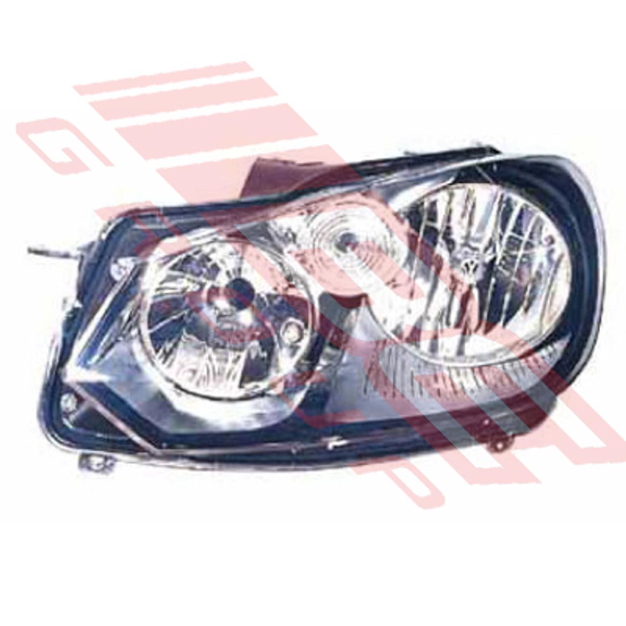 mk6 golf headlight bulb type