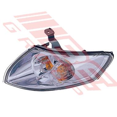 3439197-3G -CORNER LAMP -L/H -CHROME INNER -TO SUIT MAZDA 626 GF 2000-02 F/L